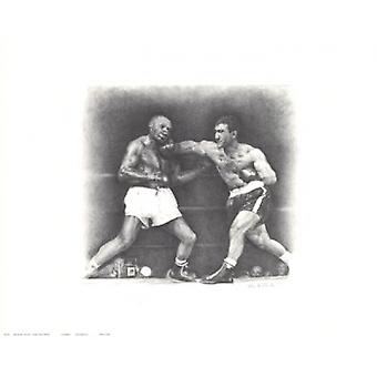 Rocky Marciano Poster Print (20 x 16)
