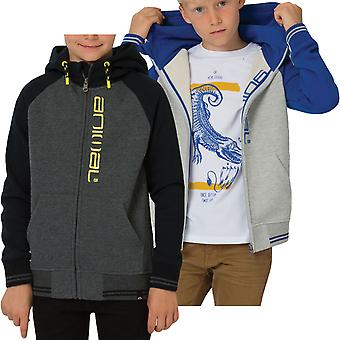 Animal Boys Kids Humming Casual Long Sleeve Zipped Hooded Sweatshirt Jacket Top