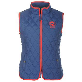 Requisite Womens Zipped Side Pockets Lightweight Jacket Gilet Ladies