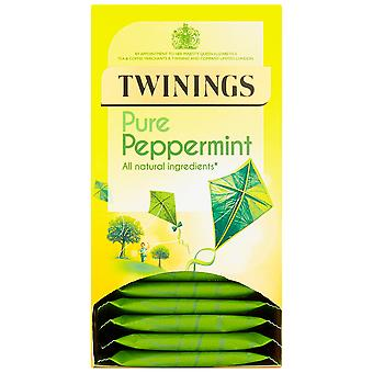 Twinings Peppermint Enveloped Tea Bags