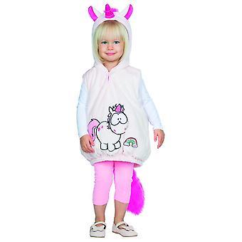 Theodor taapero yksisarvinen puku pikkulapsille vaaleanpunainen Carnival