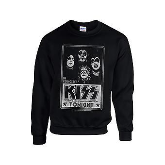 Kiss - Concert Poster Sweatshirt