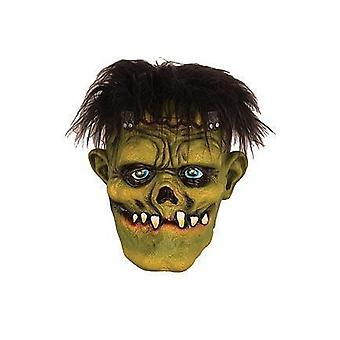 Make up en wimpers Latex masker Frankenstein