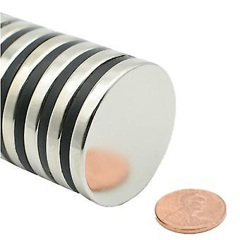Neodymium magnet 40 x 5 mm bricka N35 - 50 stycken