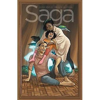 Saga Volume 9 by Saga Volume 9 - 9781534308374 Book