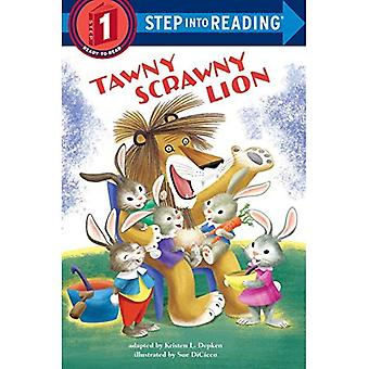 Tawny Dürr Löwe (Einzelschritt Lesung)