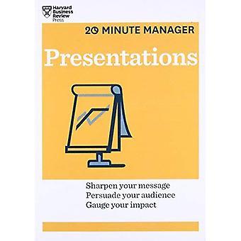 Présentations (série de 20 minutes Manager de HBR) (gestionnaire de 20 minutes)
