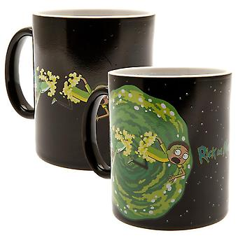 Rick And Morty Official Portal Heat Changing Mug