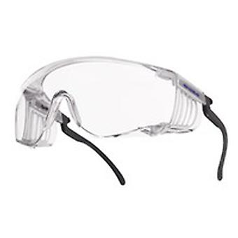 Bolle SQUPSI Squale Coverspecs Clear Anti-Scratch/Fog Lens Adjustable Temples