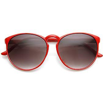 Большие Ретро мода P-3 форма замочной скважины круглые очки