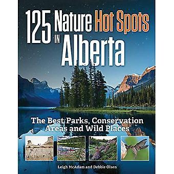 125 points chauds de nature en Alberta: meilleurs parcs, aires de Conservation et des endroits sauvages