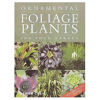 Dekorativa gröna växter för din trädgård