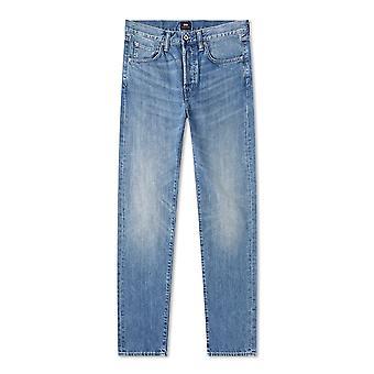 Edwin Rauha Wash ED-55 Kingston Blue Denim Regular Tapered Jean