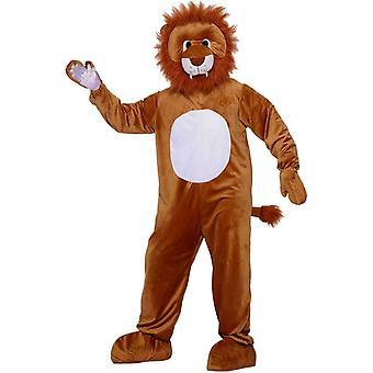 Leu mascotă Adult costum
