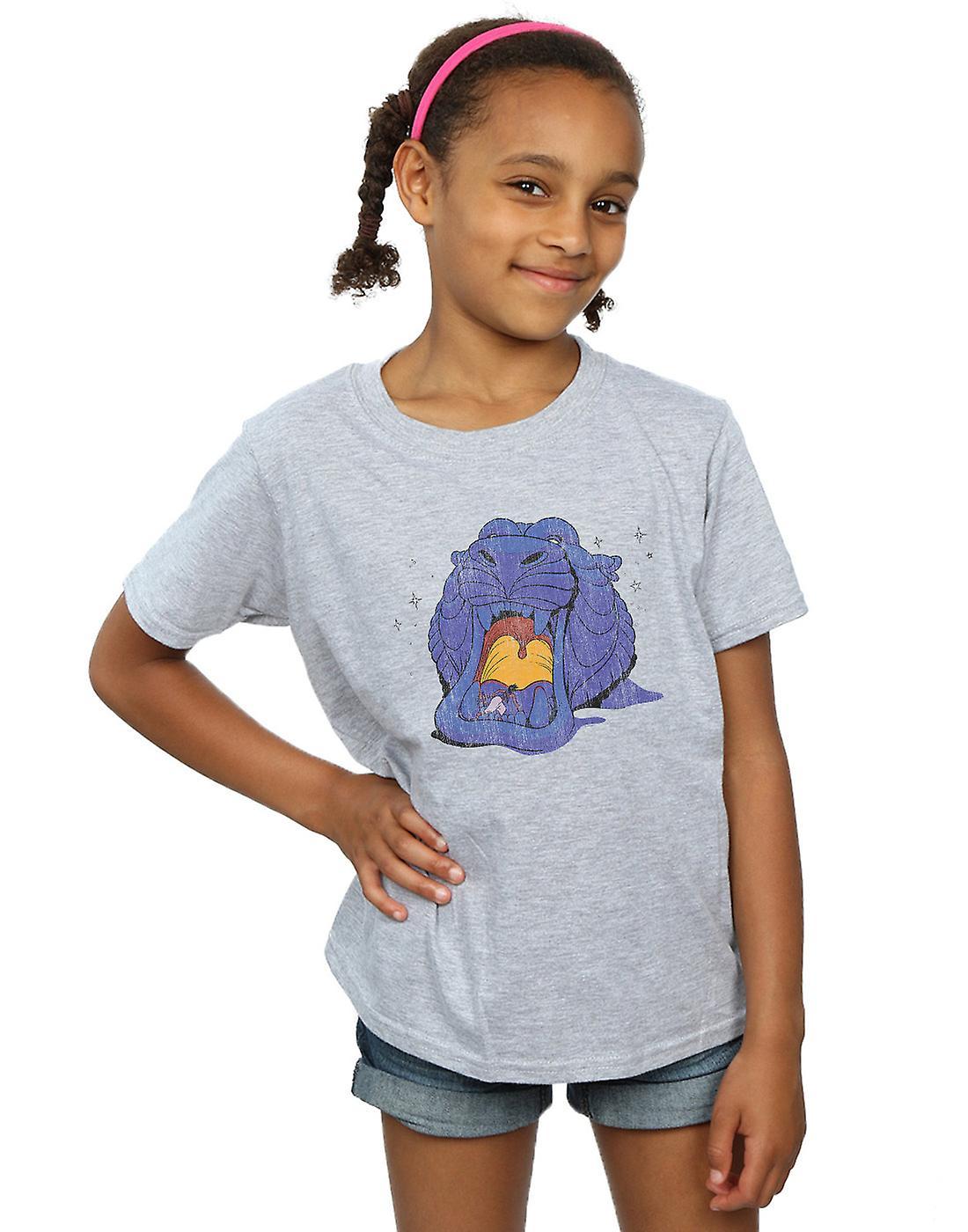 Disney Girls Aladdin Cave Of Wonders Distressed T-Shirt