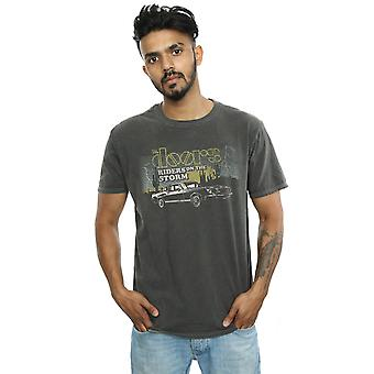 The Doors Men's Riders On The Storm Washed T-Shirt