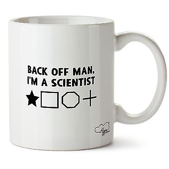 Hippowarehouse Back Off Man, I'm A Scientist 10oz Mug Cup