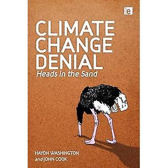 Clima cambio negación cabezas en la arena por Washington y Haydn
