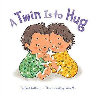 Een tweeling wil knuffel