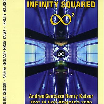 Andrea Centazzo & Henry Kaiser - Infinity Squared-Live in Los Angeles 2006 [CD] USA import