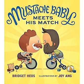 Mustache Baby Meets His Match (Board Book) by Bridget Heos - 97813288