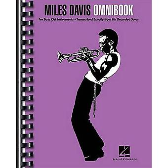 Miles Davis Omnibook by Miles Davis - 9781480354852 Book