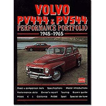 Volvo PV444 and PV544 Performance Portfolio 1945-1965 by R. M. Clarke