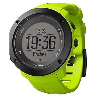 Suunto Ambit3 zwart rubber Unisex horloge SS021971000