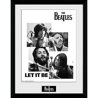 The Beatles Let It Be Framed Collector Print 40x30cm