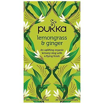 Pukka Lemongrass & Ginger Tea Bags 80