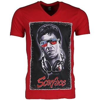 T-shirt-Scarface-Red