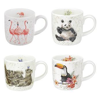Wrendale Zoological Mug Gift Set