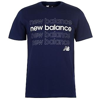 Nieuwe evenwicht mens REPEAT T shirt T-shirt tee top