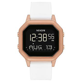 Nixon the Sirene Watch for Digital Woman with Silicone Bracelet A12111045