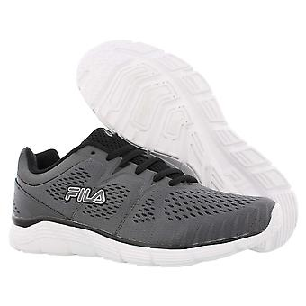Fila Mens Memory Driftstorm Stoff Low Top Lace Up Running Sneaker