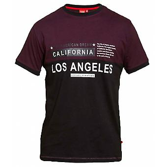 DUKE Duke Los Angeles Panel T Shirt