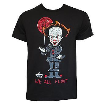 Es wir schweben alle schwarzen T-Shirt