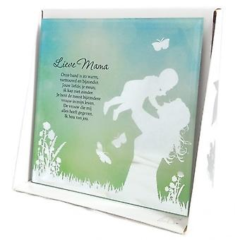 Silver Silhouette Mirror Sweet Mommy