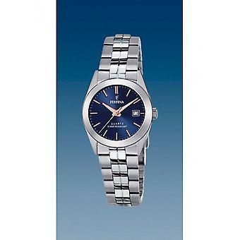 Festina - Wristwatch - Ladies - F20438/B - Steel Strap Classic