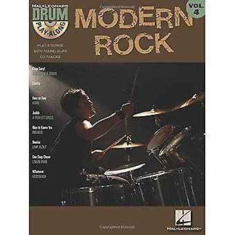 Modern Rock: Drum Play-Along: Volume 4 with CD (Audio) (Hal Leonard Drum Play-Along)