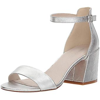 Kenneth Cole New York Womens Hannon Vinyl Fabric Open Toe Ankle Strap Classic...