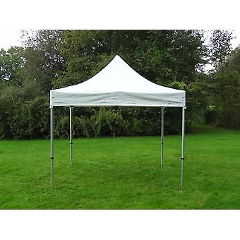 Vouwtent/Easy up tent FleXtents Xtreme Heavy Duty 3x3m, Wit