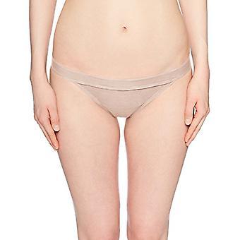 Billabong Mujeres'es Tanlines Tropic Bikini Bottom Barely Blush Small