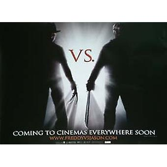 Freddy vs. Jason (enkelzijdig Advance) originele Cinema poster