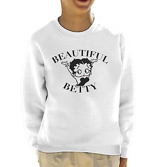 Betty Boop Beautiful Kid's Sweatshirt