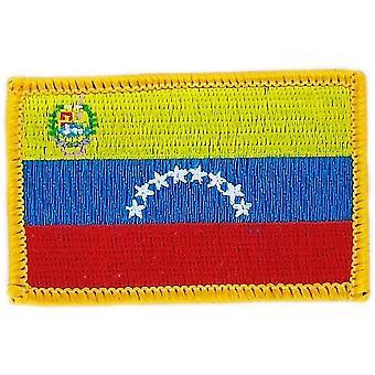 التصحيح Ecusson برود درابو فنزويلا العلم Thermocollant شارة بلاسون
