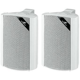 Monacor MKS-34/WS Wandlautsprecher 45 W 4 x Weiß 1 Paar
