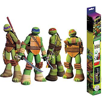 Decal - TMNT 18X24 Stickers Kids Games Toys New dc7217