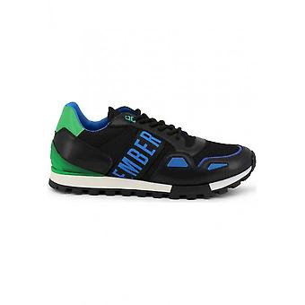Bikkembergs - Shoes - Sneakers - FEND-ER_2232_BLACK - Men - black,green - EU 44