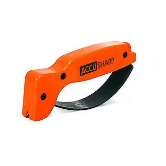 AccuSharp Classic Regular Knife & Tool Sharpener, Blaze Orange #014C